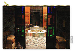 Old Traditional Riad In Fez Carry-all Pouch