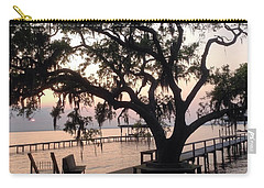 Old Tree At The Dock Carry-all Pouch
