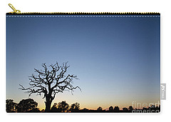 Old Tree Silhouette Carry-all Pouch