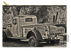Carry-all Pouch featuring the photograph Old Truck by Frank Stallone