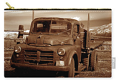 Carry-all Pouch featuring the photograph Old Truck by Norman Hall