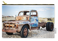 Carry-all Pouch featuring the photograph Old Truck by Silvia Bruno