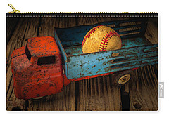 Old Truck With Basball Carry-all Pouch by Garry Gay