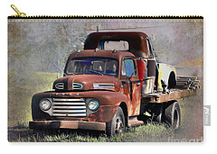 Carry-all Pouch featuring the photograph Old Trucks by Savannah Gibbs