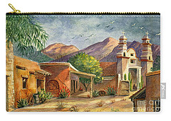 Old Tucson Carry-all Pouch by Marilyn Smith