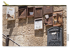 Old  Mailboxes In Jerusalem Carry-all Pouch