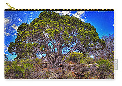 Old Utah Juniper Carry-all Pouch