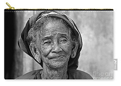 Old Vietnamese Woman Carry-all Pouch