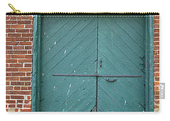 Old Warehouse Loading Door Carry-all Pouch