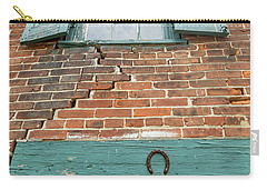 Old Warehouse Window And Lucky Door Carry-all Pouch