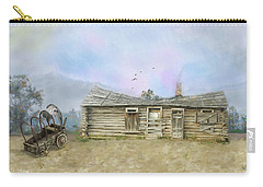 Carry-all Pouch featuring the photograph Old West by Mary Timman