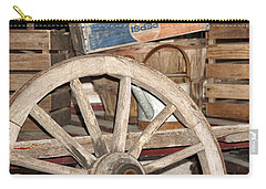 Old Wheel Carry-all Pouch