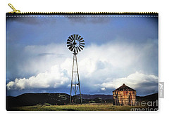 Old Windmill And Tank 2017 Carry-all Pouch