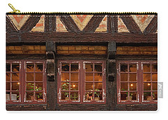 Carry-all Pouch featuring the photograph Old Windows - 365-275 by Inge Riis McDonald