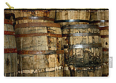 Old Wood Whiskey Barrels Carry-all Pouch