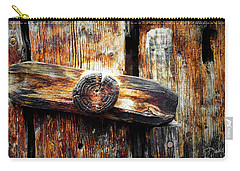 Old Wooden Latch Carry-all Pouch