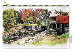 Old Wooden Mill Carry-all Pouch