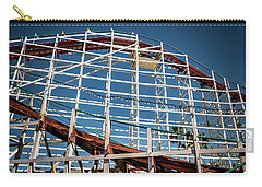 Carry-all Pouch featuring the photograph Old Woody Coaster by T Brian Jones