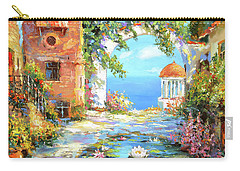 Old Yard  Carry-all Pouch by Dmitry Spiros
