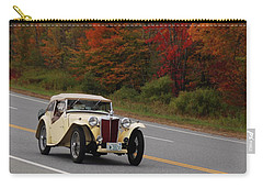 Carry-all Pouch featuring the photograph Old Yeller 8168 by Guy Whiteley