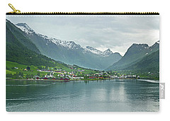 Olden On Nordfjord Carry-all Pouch