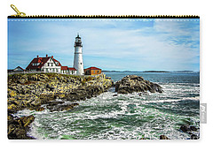 Oldest Lighthouse In Maine Carry-all Pouch