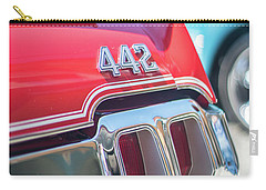 Olds 442 Classic Car Carry-all Pouch by Mike Reid