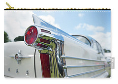 Oldsmobile Tail Carry-all Pouch by Helen Northcott