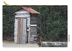 Oldtime Outhouse - Digital Art Carry-all Pouch