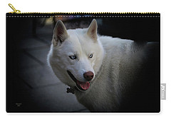 Ole Blue Eyes Carry-all Pouch by Dennis Baswell