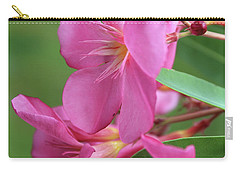 Oleander Maresciallo Graziani 2 Carry-all Pouch by Wilhelm Hufnagl