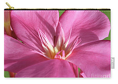 Oleander Maresciallo Graziani 3 Carry-all Pouch by Wilhelm Hufnagl