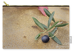 Carry-all Pouch featuring the photograph Olive by Cindy Garber Iverson