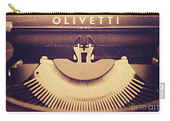 Olivetti Typewriter Carry-all Pouch