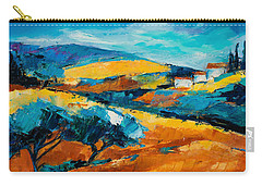 Oliviers En Provence Carry-all Pouch