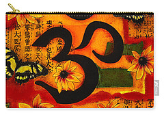 Carry-all Pouch featuring the mixed media Om by Gloria Rothrock