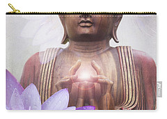 Om Mani Padme Hum - Buddha Lotus Carry-all Pouch