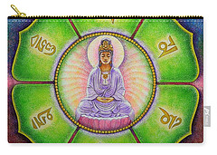 Om Mani Padme Hum Kuan Yin Carry-all Pouch