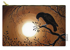 Ominous Bird Of Yore Carry-all Pouch by Laura Iverson