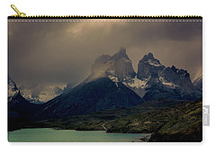 Ominous Peaks Carry-all Pouch by Andrew Matwijec