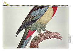 Omnicolored Parakeet Carry-all Pouch by Jacques Barraband