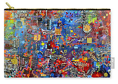 On A Chip Carry-all Pouch by Regina Valluzzi