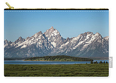 Carry-all Pouch featuring the photograph On A Clear Day by Jan Davies