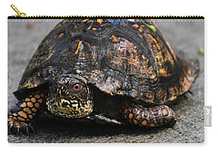 Carry-all Pouch featuring the photograph On A Mission by Skip Willits