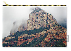 Carry-all Pouch featuring the photograph On A Misty Day by Phyllis Denton
