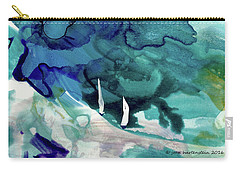 On A Roll Carry-all Pouch by Joan Hartenstein