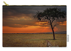 On A  Serengeti Evening  Carry-all Pouch