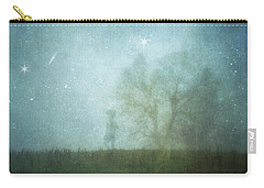On A Starry Night, A Boy And His Tree Carry-all Pouch