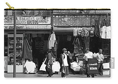 Carry-all Pouch featuring the photograph On Broadway Los Angeles Style by Lorraine Devon Wilke