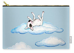 Carry-all Pouch featuring the painting On Cloud Nine by Jindra Noewi